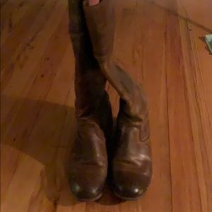 FRYE riding boot- brown